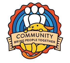 Wapuu - Community; Bring People Together